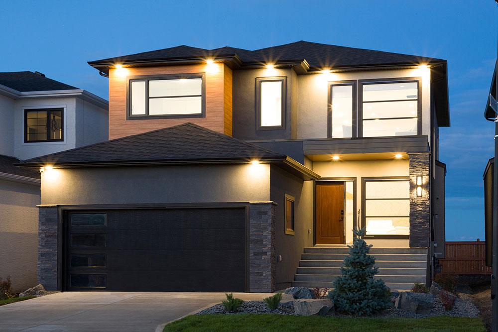 Fairview Exterior - 31 Highpark Drive, Prairie Pointe, Winnipeg   Show Home