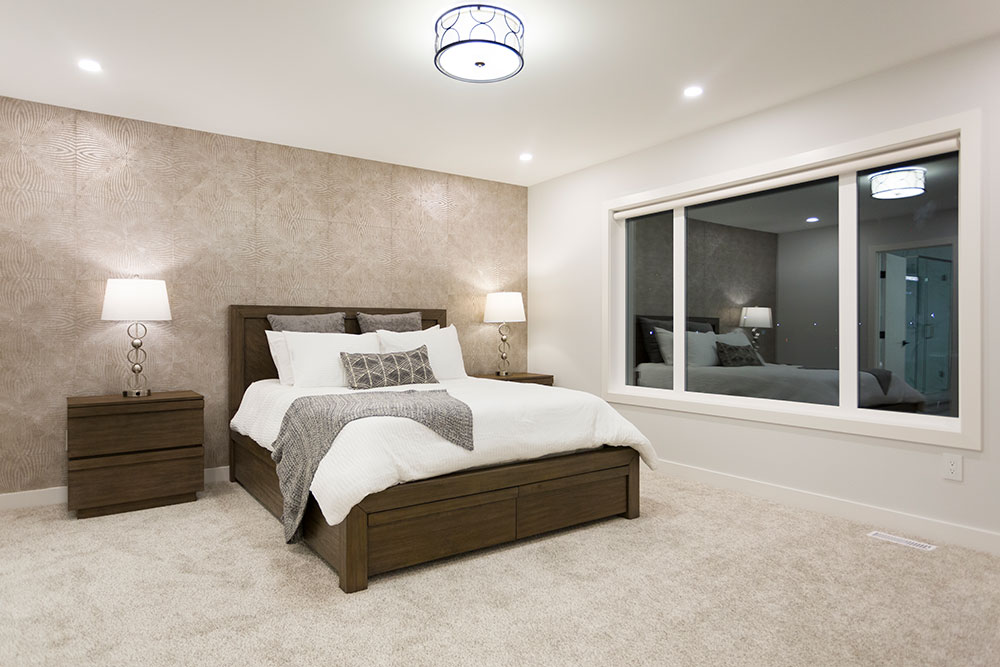 Fairview Master Bedroom - 31 Highpark Drive, Prairie Pointe, Winnipeg   Show Home