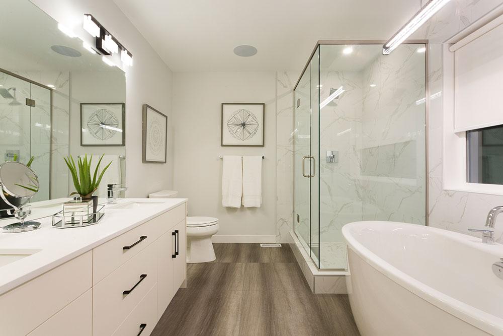 Fairview Ensuite Bathroom - 31 Highpark Drive, Prairie Pointe, Winnipeg   Show Home