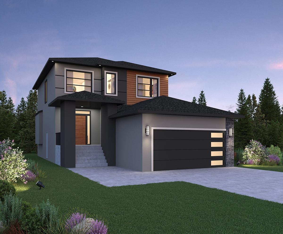 Discovery Living show home Winnipeg new homes