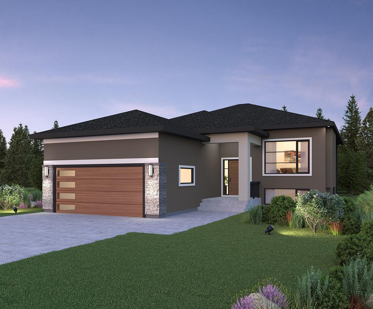 Winnipeg show home new 2021 digital rendering